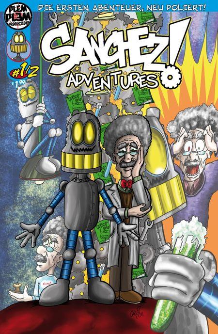 Sanchez Adventures 1/2 - Das Cover