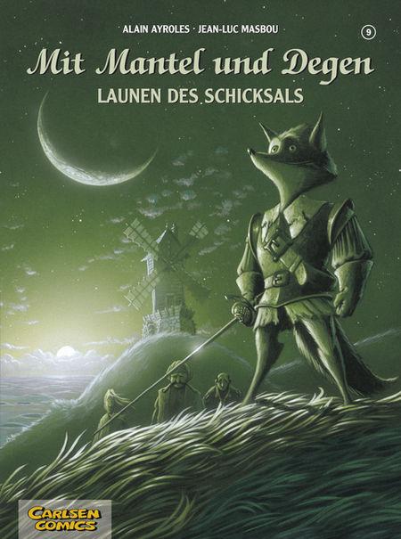 Mit Mantel und Degen 9: Launen des Schicksals - Das Cover