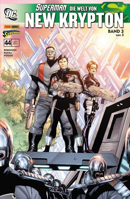 Superman Sonderband 44: Die Welt von New Krypton 3 (von 3) - Das Cover