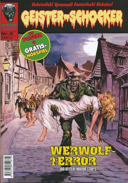 Geister-Schocker 0 - Das Cover