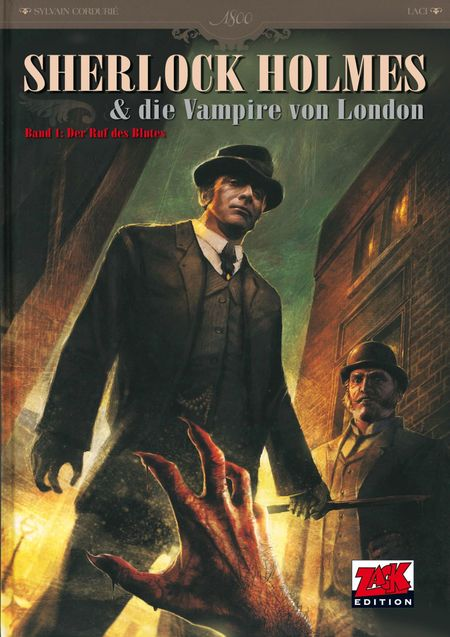 Sherlock Holmes 1: Der Ruf des Blutes - Das Cover