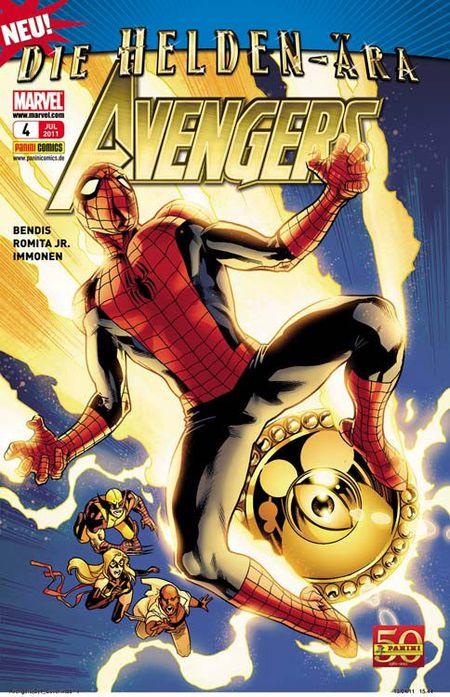 Avengers 4 - Das Cover
