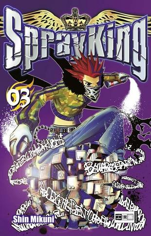Spray King 3 - Das Cover