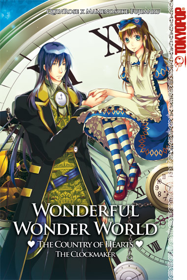 Wonderful Wonder World: The Country of Hearts - The Clockmaker - Das Cover