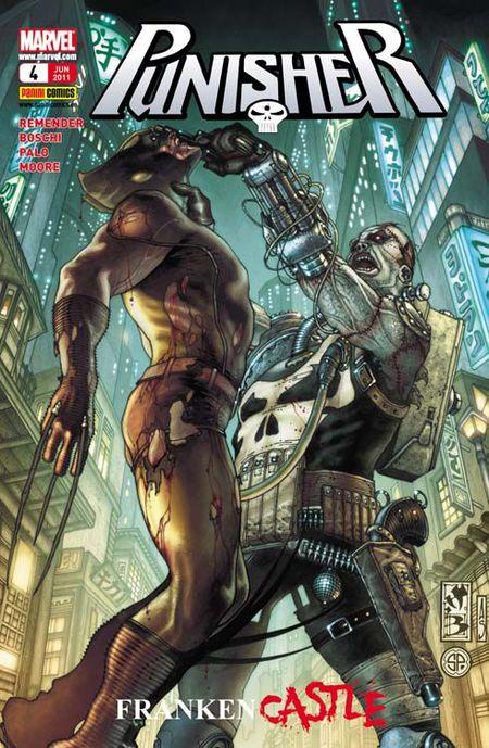 Punisher 4: Frankencastle 2 - Das Cover