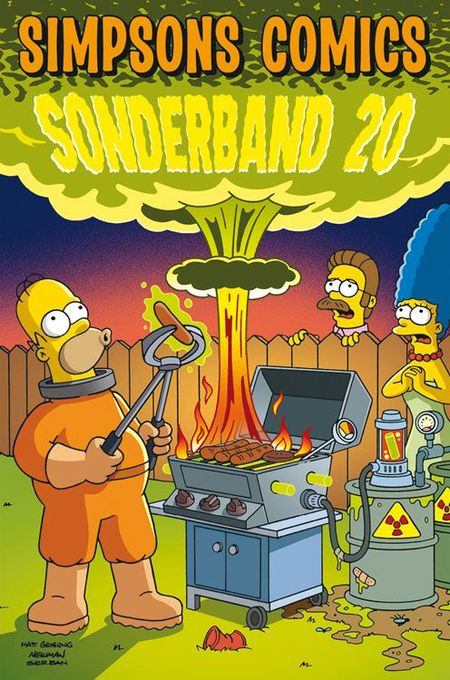 Simpsons Comics Sonderband 20: Grill Gaudi - Das Cover