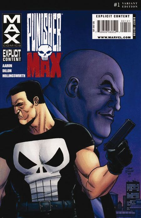 Max 40: Punisher - Kingpin - Das Cover