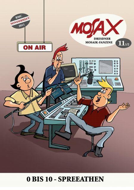 Mosa.X Nr.  11 1/2 - Das Cover