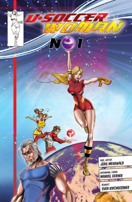 U-Soccer Woman 1 - Das Cover