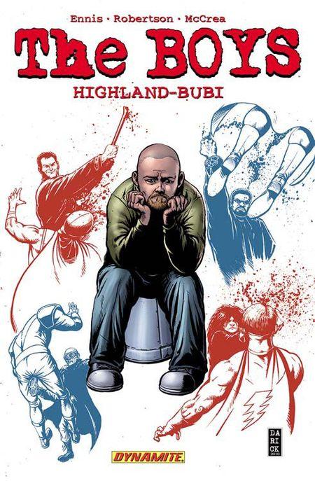 The Boys 8: Highland-Bubi - Das Cover