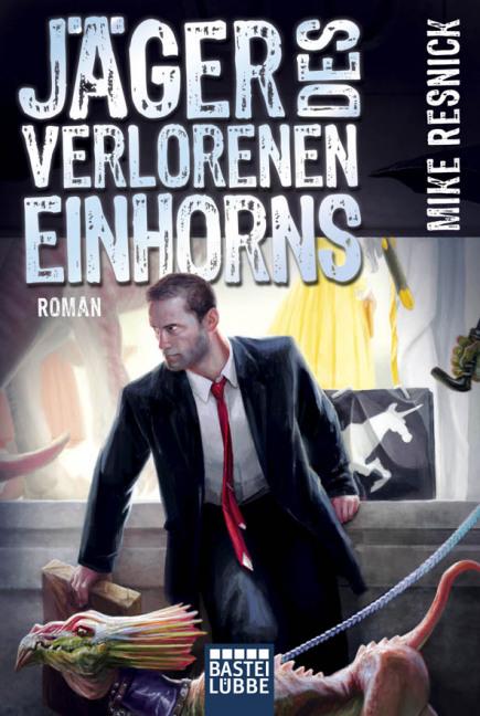 Jäger des verlorenen Einhorns - Das Cover
