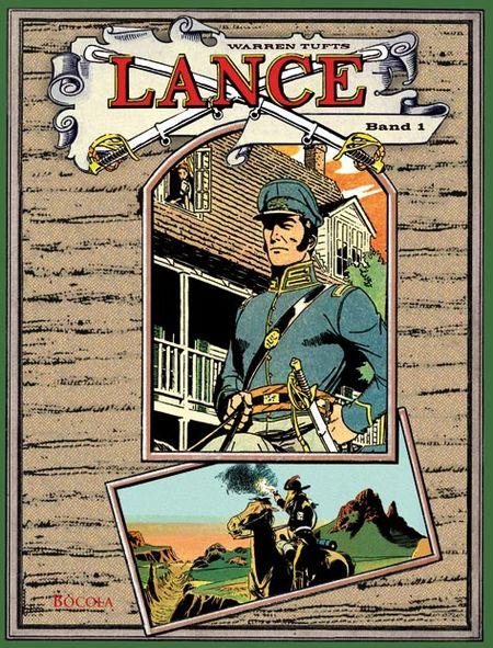 Lance Gesamtausgabe 1 - Das Cover