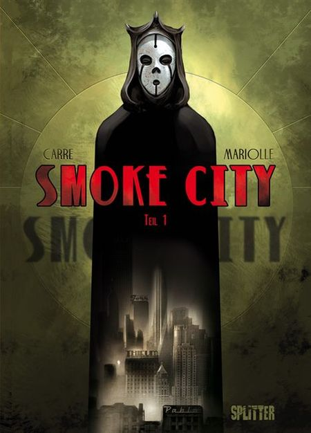 Smoke City 1 - Das Cover
