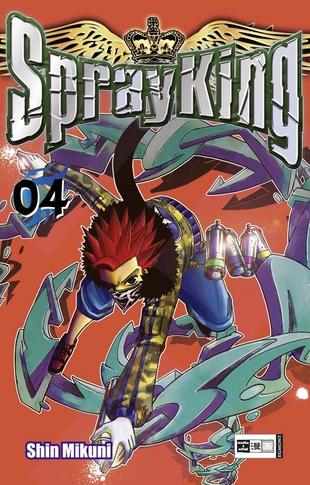 Spray King 4 - Das Cover