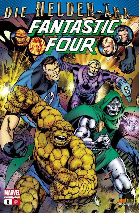Fantastic Four 8: Stiftung Zukunft - Das Cover