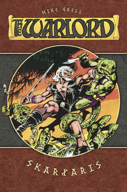 Warlord 1: Skartaris - Das Cover