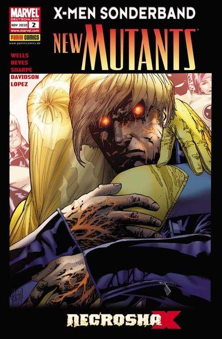 X-Men Sonderband - New Mutants 2: Necrosha - Das Cover