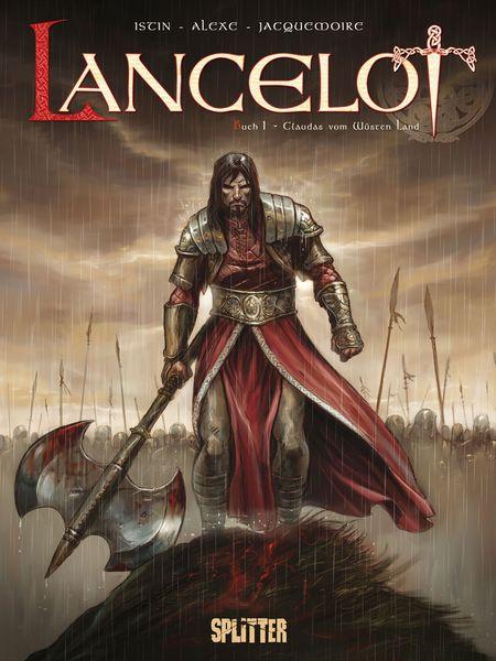 Lancelot 1: Claudas vom Wüsten Land - Das Cover