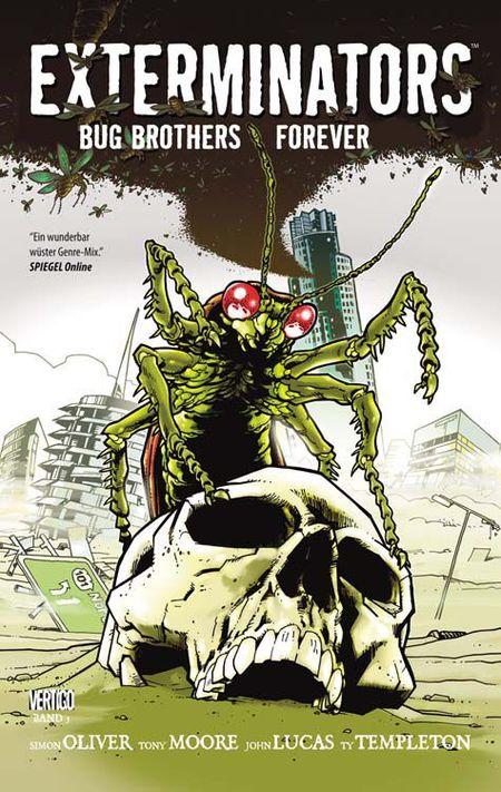 Exterminators 5: Bug Brothers Forever - Das Cover
