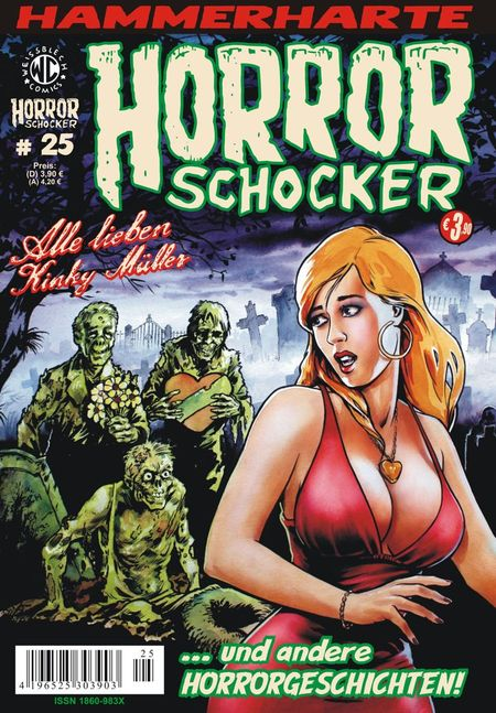 Horrorschocker 25 - Das Cover