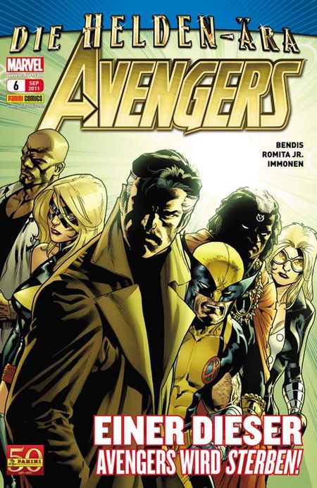 Avengers 6 - Das Cover
