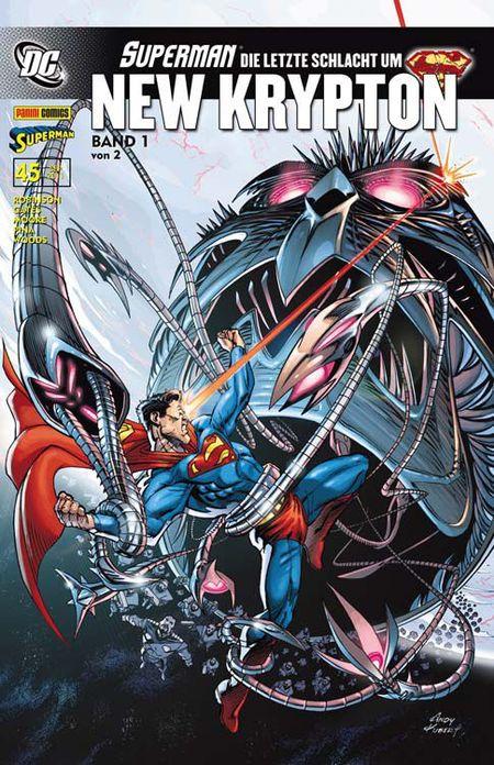 Superman Sonderband 45: Die letzte Schlacht um New Krypton 1 - Das Cover