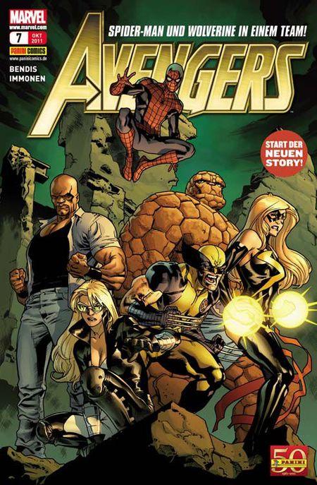 Avengers 7 - Das Cover