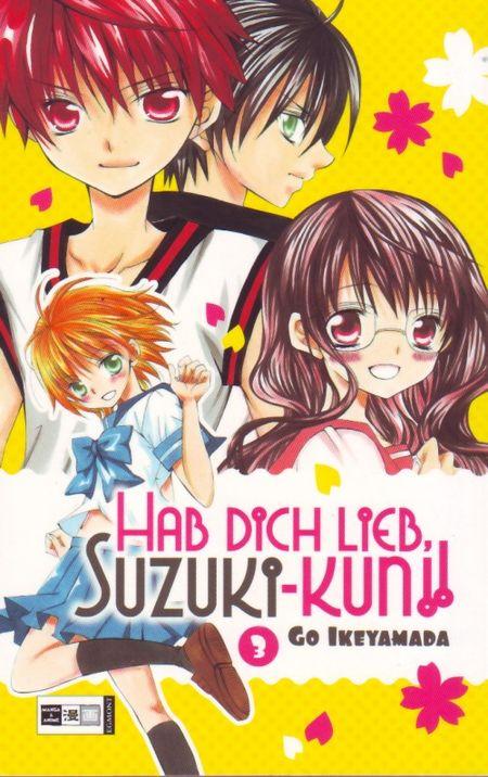 Hab dich lieb, Suzuki-kun!! 3 - Das Cover