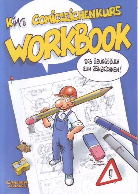 Kim's Comiczeichenkurs:  Workbook - Das Cover