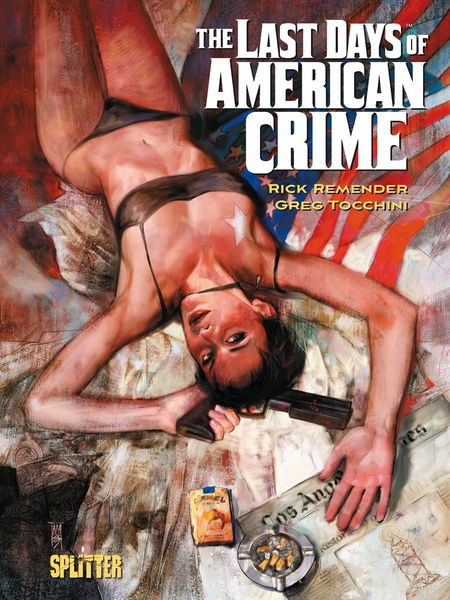 The Last Days of American Crime - Das Cover