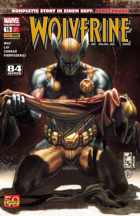 Wolverine 15 - Das Cover