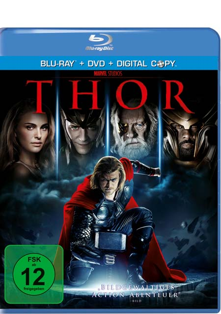 Thor (Blu-ray + DVD) - Das Cover