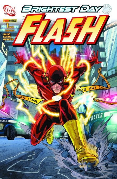 Flash 1: Brightest Day - Das Cover