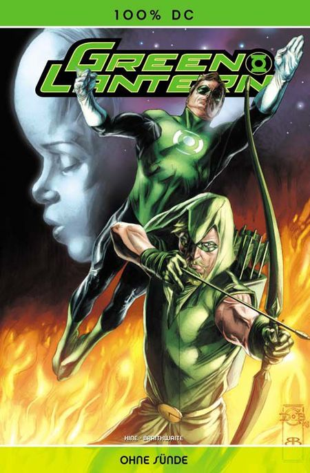 100% DC 31: Green Lantern - Ohne Sünde - Das Cover