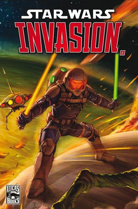 Star Wars Sonderband 62: Invasion 2 - Die Rettung - Das Cover