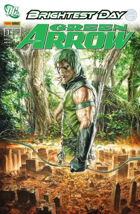 Green Arrow 1: Tief im Wald - Das Cover