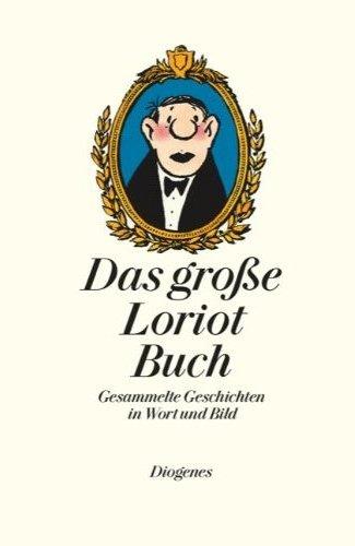 Das große Loriot Buch - Das Cover