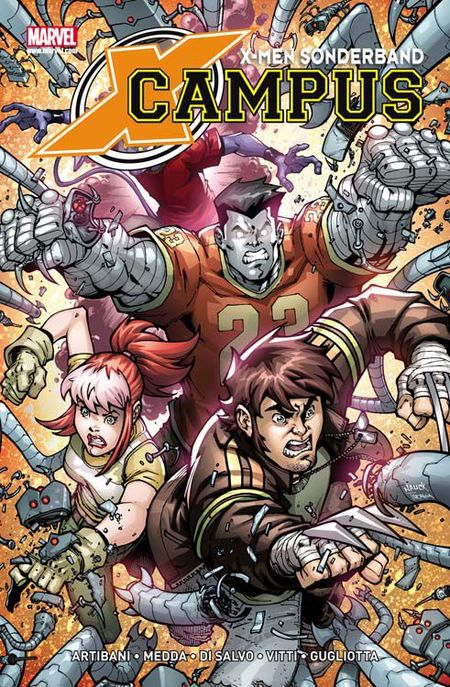 X-Men Sonderband: X-Campus - Das Cover
