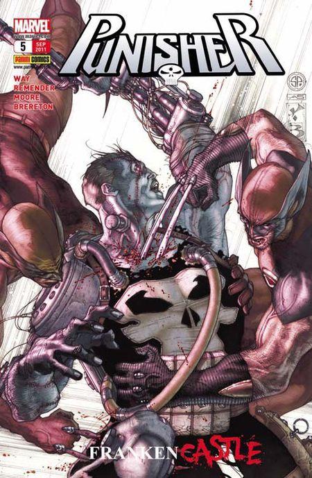 Punisher 5: Frankencastle 3 - Das Cover