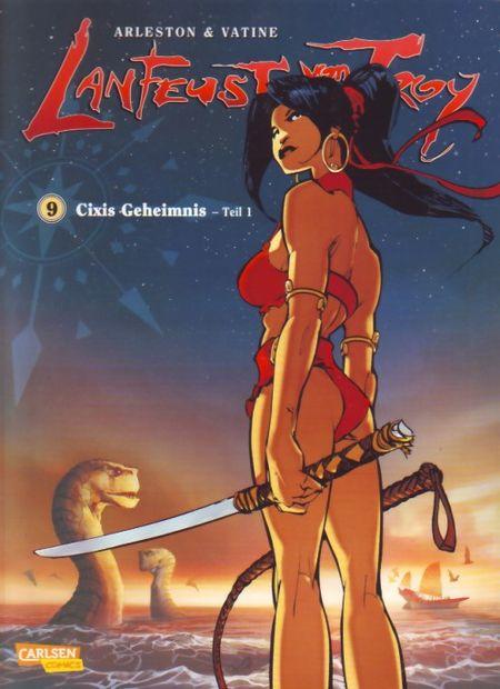 Lanfeust von Troy 9: Cixis Geheimnis 1 - Das Cover