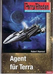 Perry Rhodan Taschenheft 1: Agent für Terra - Das Cover