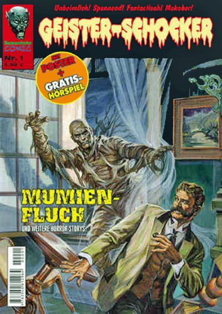 Geister-Schocker 1 - Das Cover