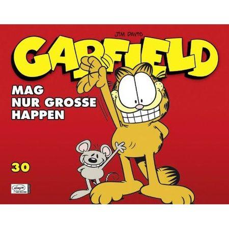 Garfield 30: Mag nur grosse Happen - Das Cover