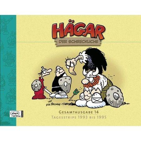 Hägar Der Schreckliche Gesamtausgabe 14: Tagesstrips 1993 bis 1995 - Das Cover