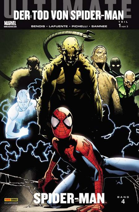 Ultimate Spider-Man 4: Der Tod von Spider-Man (Prolog) - Das Cover