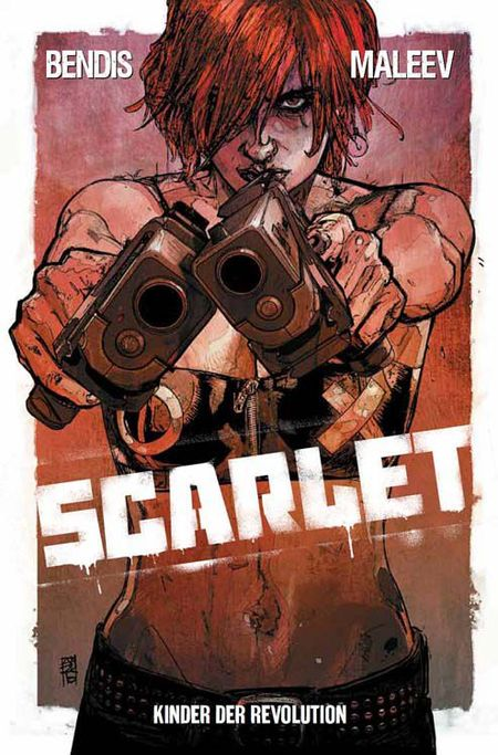 Scarlet 1: Kinder der Revolution - Das Cover