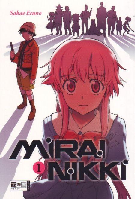Mirai Nikki 1 - Das Cover