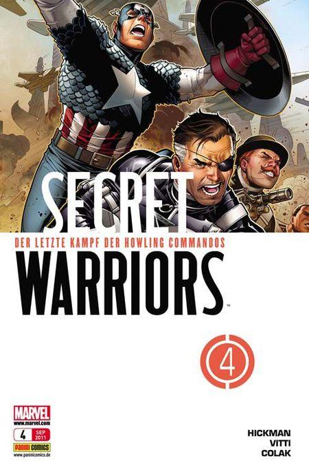 Secret Warriors 4: Die letzte Schlacht des Howling Commandos - Das Cover