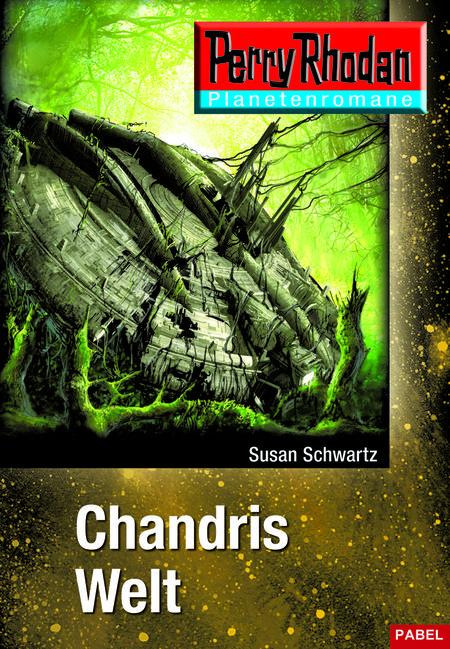 Perry Rhodan Taschenheft 7: Chandris Welt - Das Cover