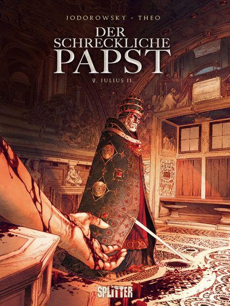Der schreckliche Papst 2: Julius II - Das Cover